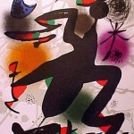 Miro Lithograph III, Number IV