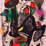 Miro Lithograph IV, Number III