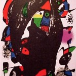 Miro Lithograph IV, Number IV