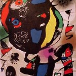 Miro Lithograph IV, Number V