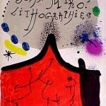 Miro Lithograph I, Cover