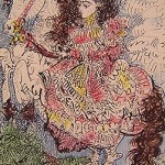 Jacqueline en un Caballo VIII