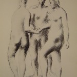 Three Standing Nudes