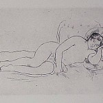 Femme nue Couchee