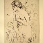 Baigneuse Debout, a mi-Jambes 1912
