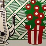 Lichtenstein Still Life with Pitcher and Flowers sq