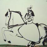 Nina a Caballo IX