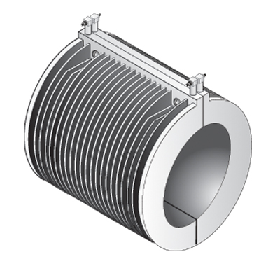 Cast In Air Cooled Band Heater