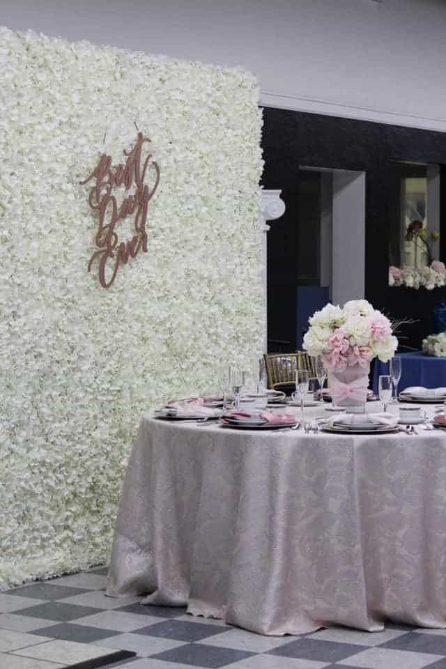 Flower Wall Image