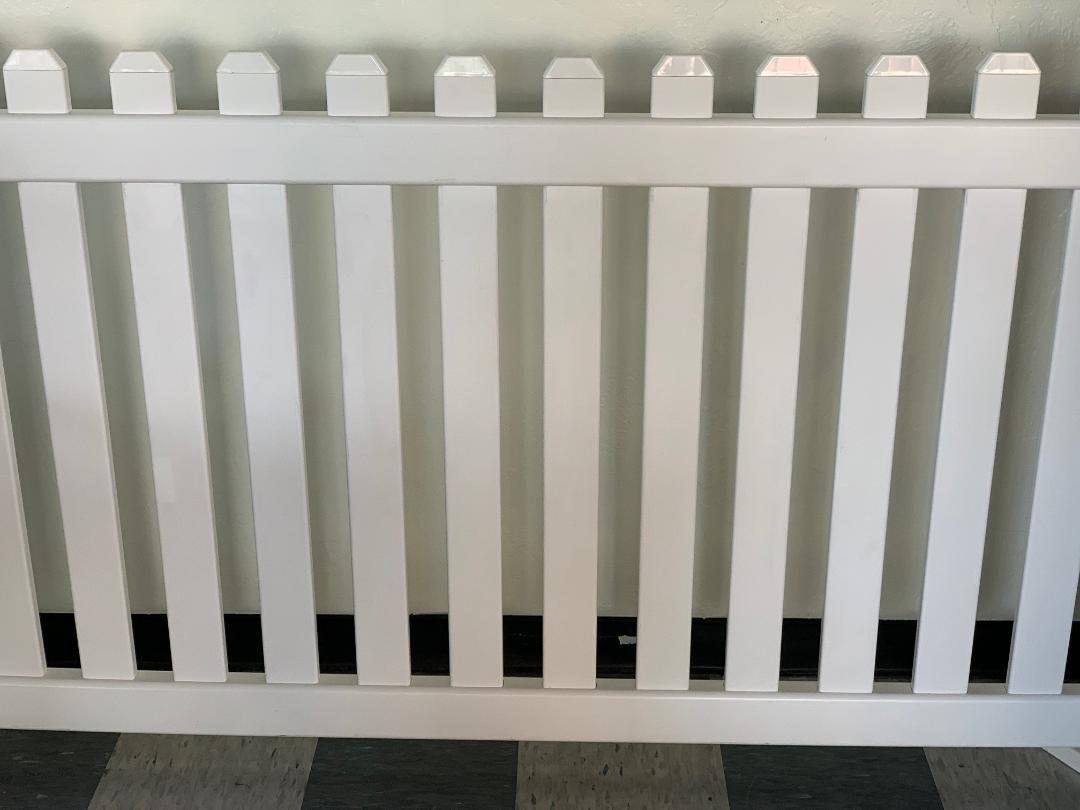 Fence, White Image