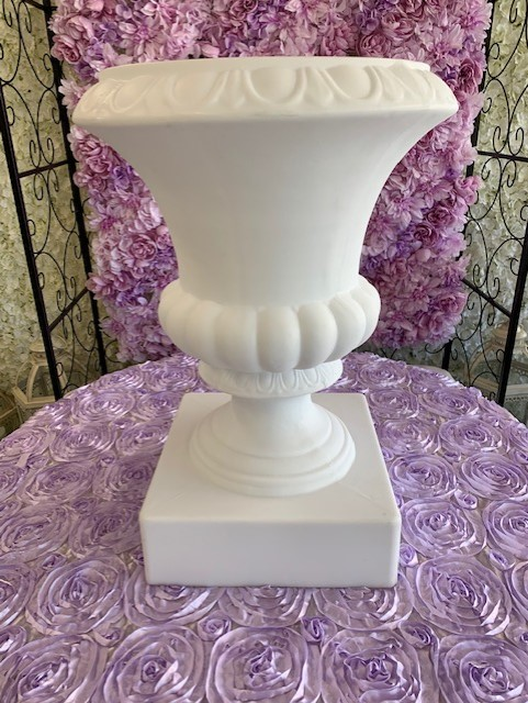 Urn, Colonnade White Image
