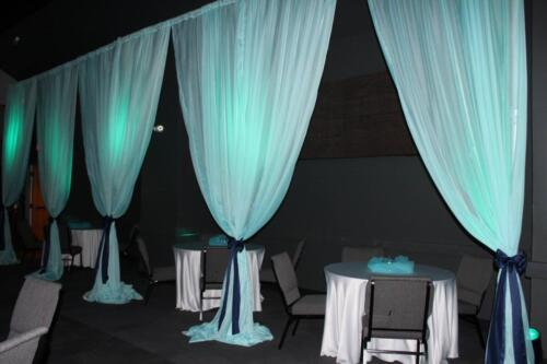 Under the Sea Prom Draping