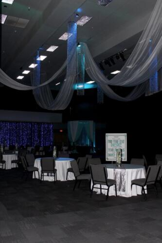 Under the Sea Prom Lighting