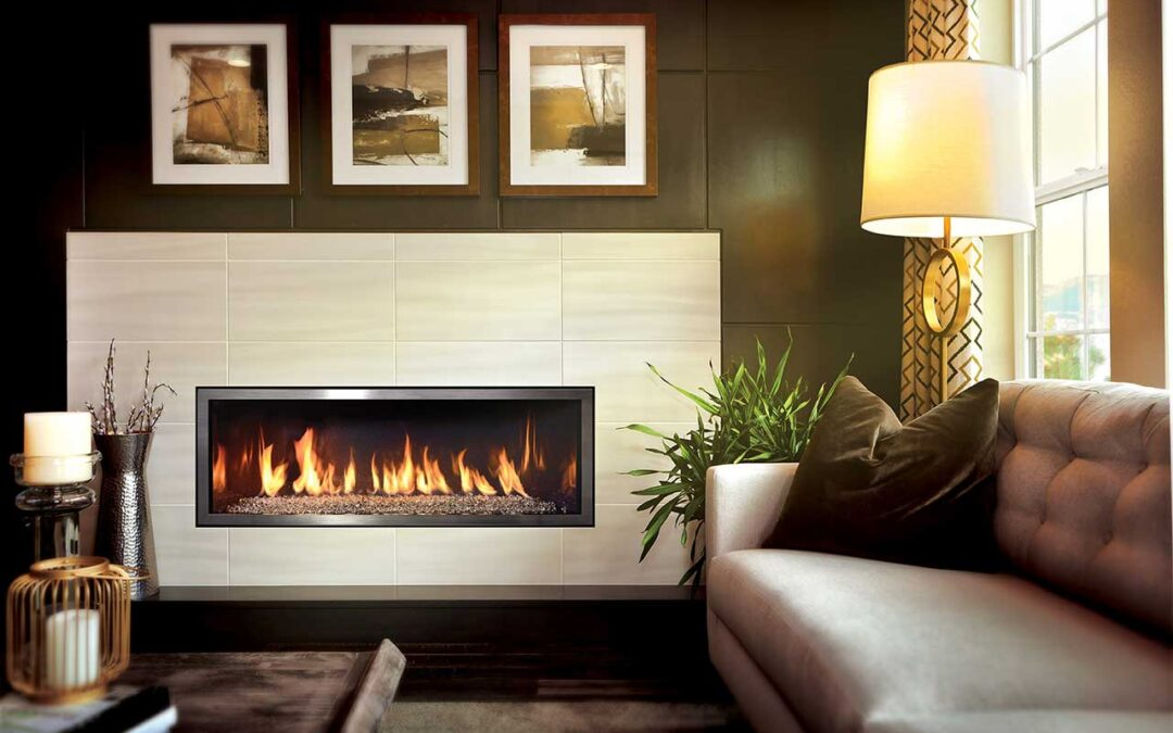 Bring comfort and coziness to your home with a gas fireplace