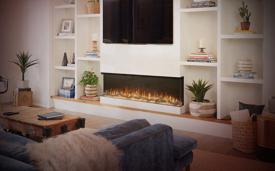 Have you considered adding an electric fireplace? Here's why you should