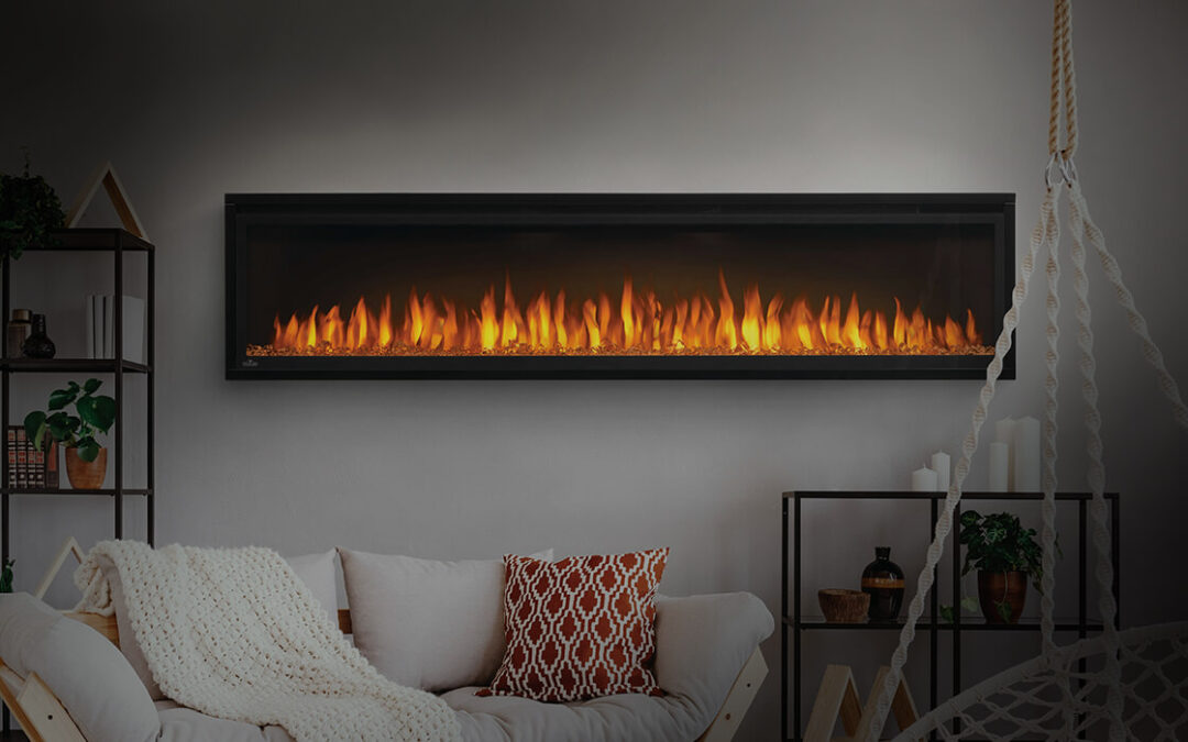 Stylish, comfortable, and easy – electric fireplaces are well worth the look