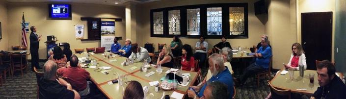 Rotary Club in Orlando near Universal Studios