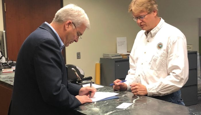 Emmer Files for Reelection