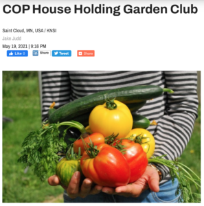 COP House Holding Garden Club