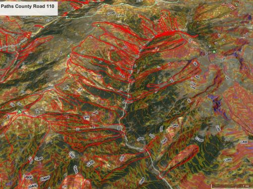 Avalanche Mapping