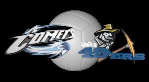 Sept 29 Volleyball Contra Costa Comets vs Yuba 49ERS