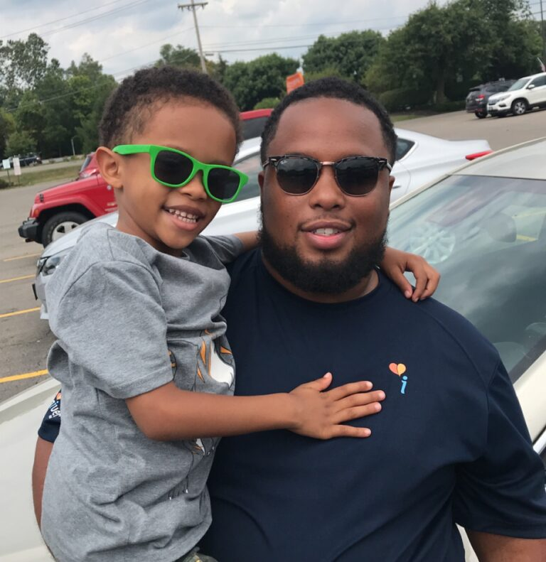 #1000FearlessFathers: Freeman Sr. Thanks His Father for Always Believing in Him