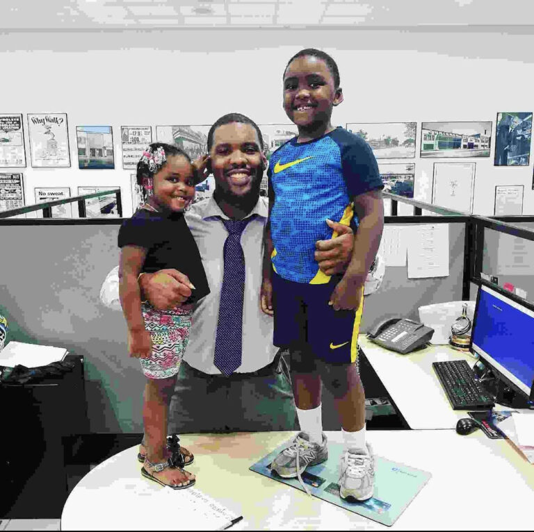 Eladdieyo Robinson Says your children being amazing adults is all the thanks you will need.