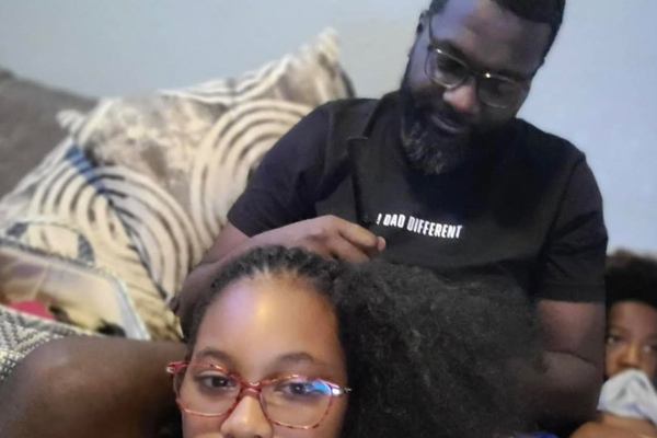 i dad different daughter hair