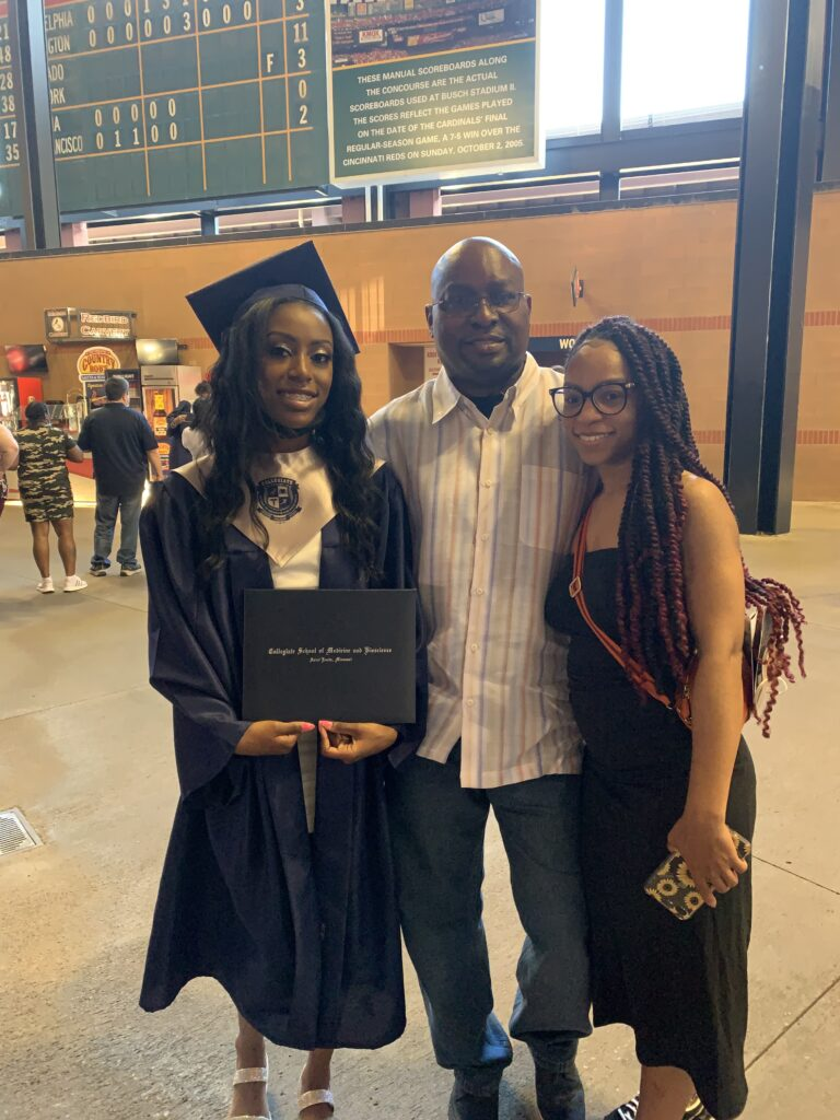 LaTosha says her father was the first teacher in becoming independent
