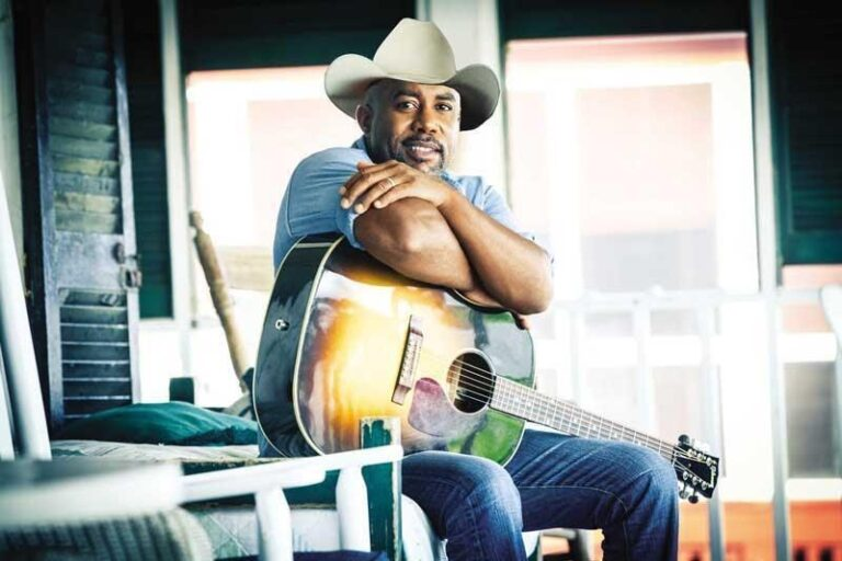 Country Singer, And Songwriter Darius Rucker And His Trail Of Fatherhood