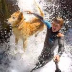 Andrew Muse and His Four Legged Adventure Buddy