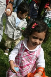 At the age 0-3 Egg Hunt