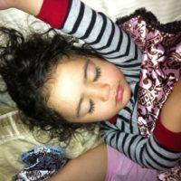 Jasmine Sleeping