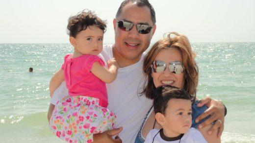 At the beach, FL.