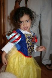 Jasmine as Snow White