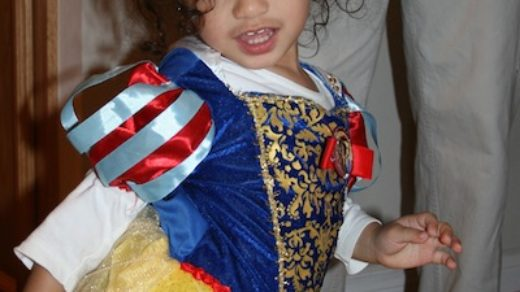 Jasmine as Snow White