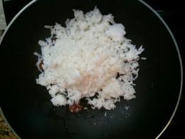 Step6 - Fry rice