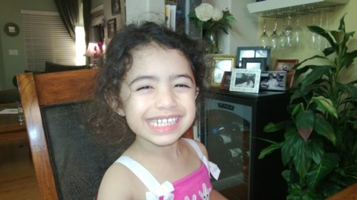 Jasmine all smiles