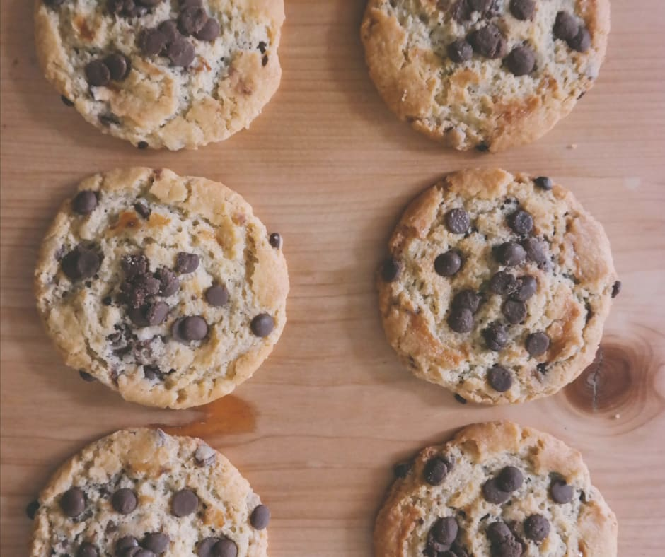 A brain in balance can recognize chocolate chip cookies from smell! You don't need to see or taste them.