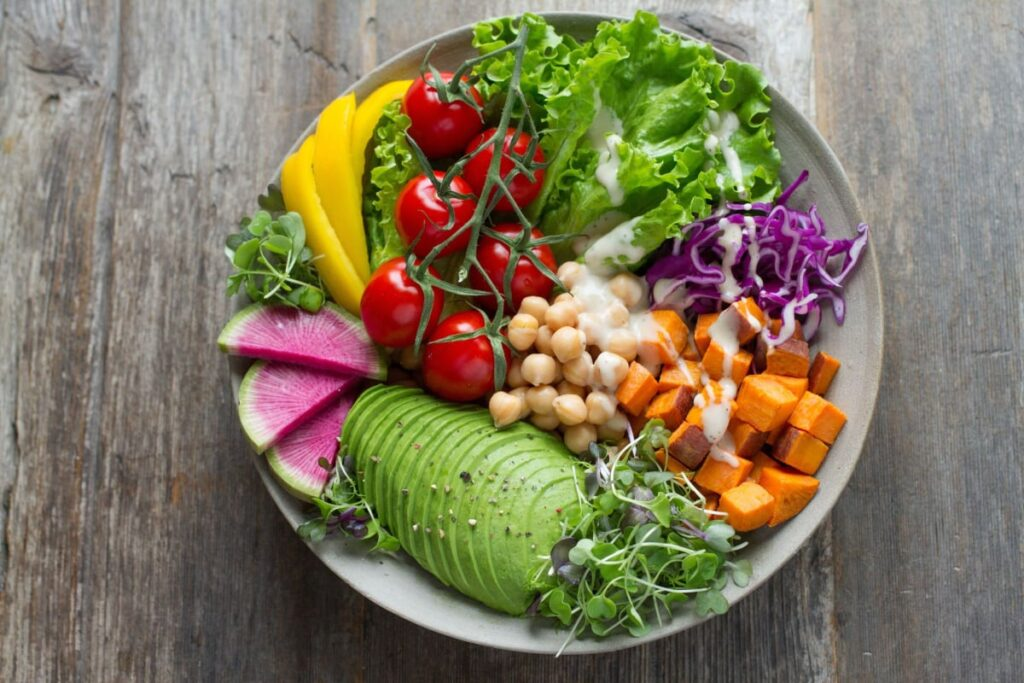 Image of delicious real food which is good to help prevent the flu during flu season.