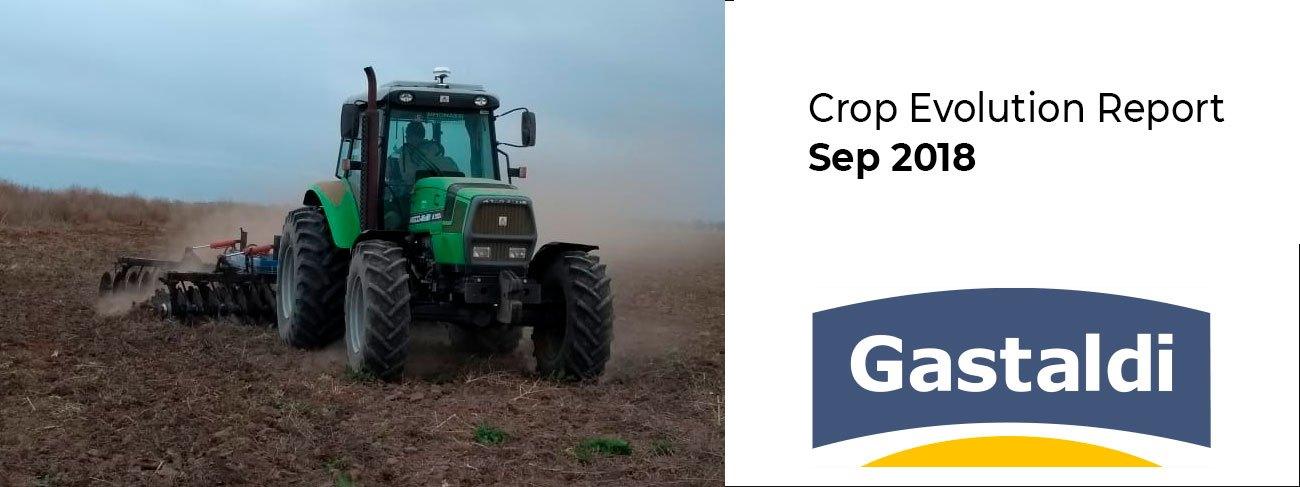 Crop Evolution Report – Sep 2018
