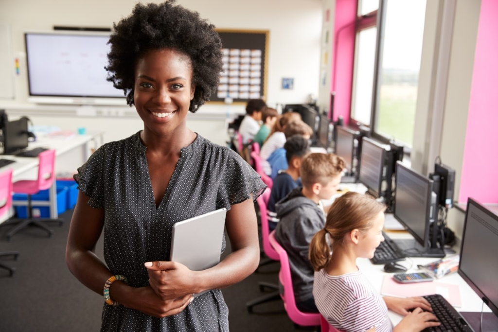 Teacher in Tech Lab