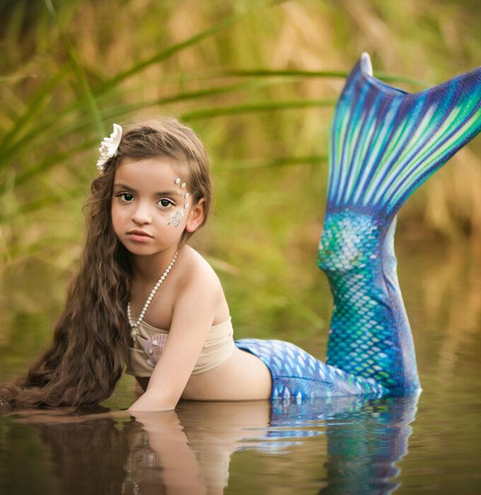 Fine Art Child Photographer - Mermaid Shoot - Scottsdale