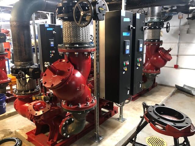 Whiteman AFB - BLDG 2032 Pumps