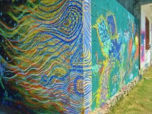 street art playa del carmen mexico graffiti mural