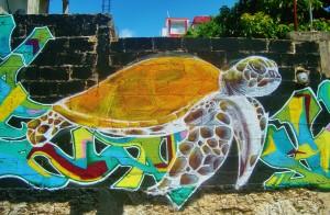 treet art playa del carmen mexico graffiti mural