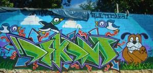 Playa Del Carmen street art murals graffiti
