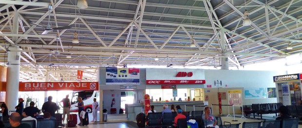 20th Avenue Bus Station in Playa Del Carmen