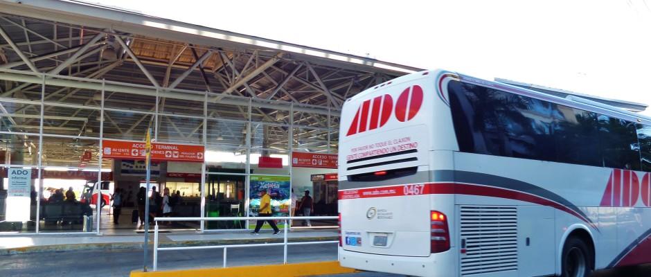 Playa Del Carmen bus station