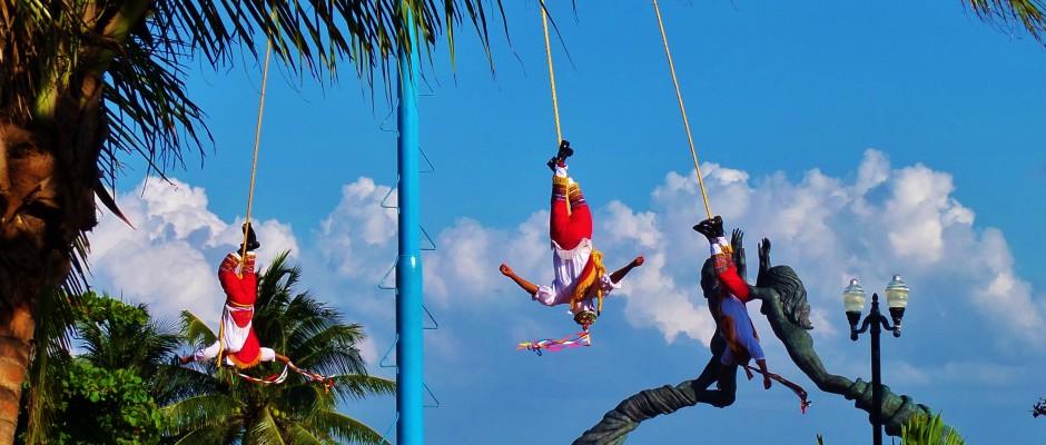 Parque Fundadores Playa Del Carmen Mexico
